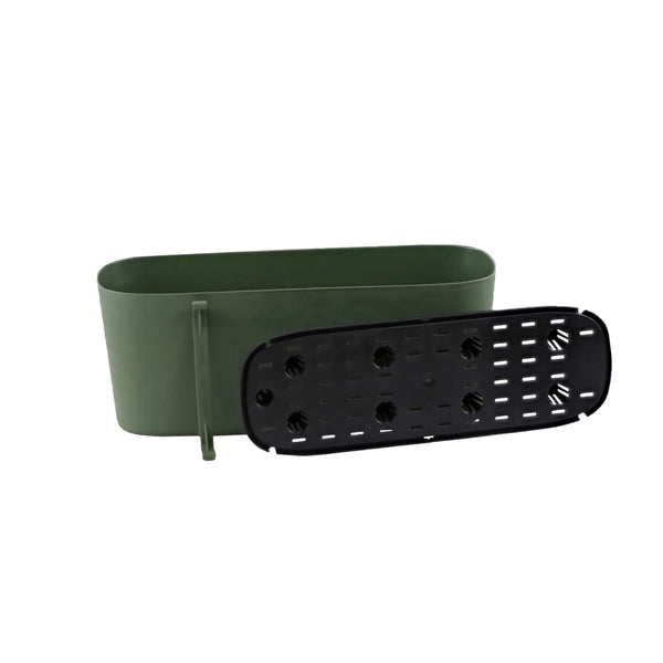large plastic trough planter self watering