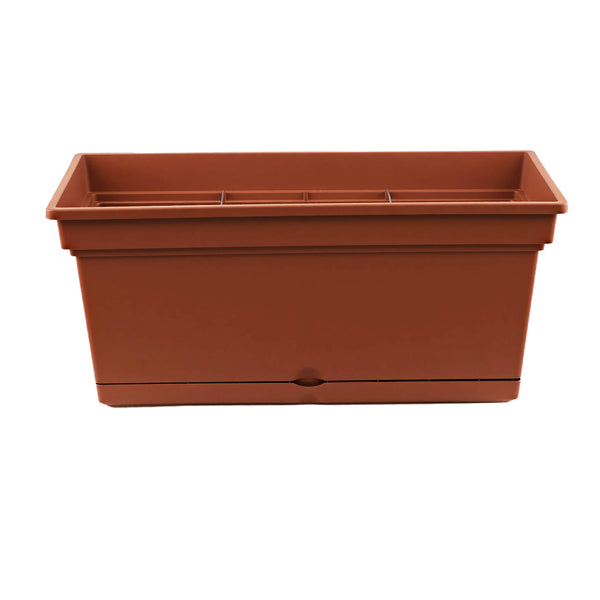 78cm large plastic trough planter