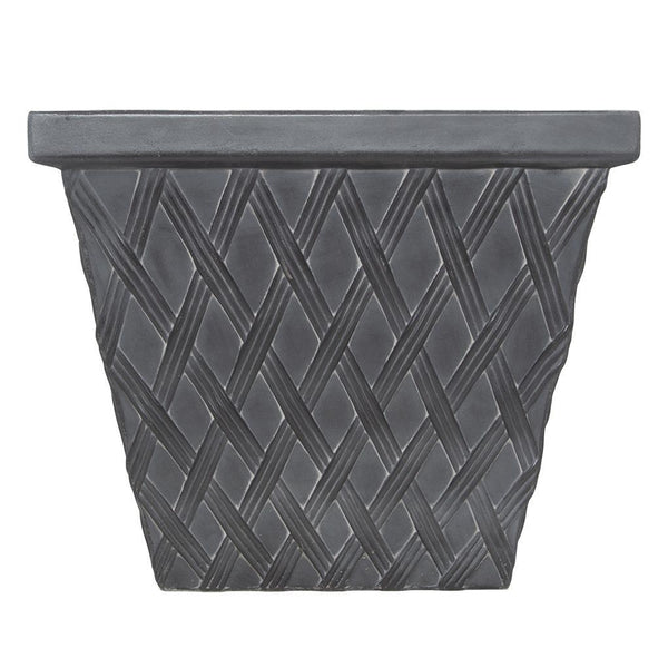 Clayton Square Faux Lead Fibreclay Resin Planter - 2 Sizes, 3 Colours - Gardenesque