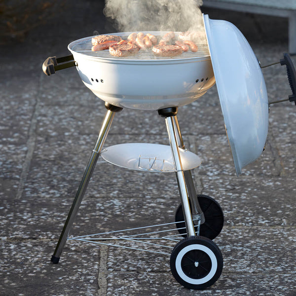 Gardenesque Portable Kettle BBQ with Charcoal Pan - Gardenesque