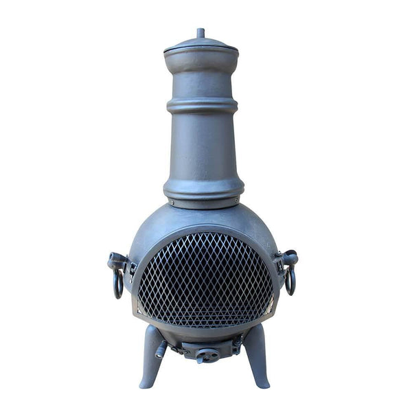 Hoole Enebro Cast Iron Chiminea Log Burner - Gardenesque