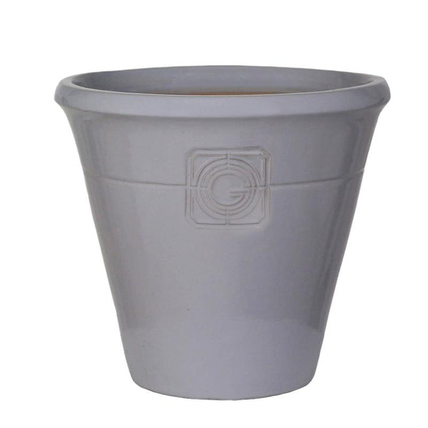 Loudon Grey Smoke Classical Cone Planter - 2 Sizes - Gardenesque