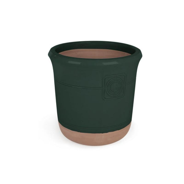 Loudon Artichoke Green Glazed Classical Planter - 4 Sizes - Gardenesque
