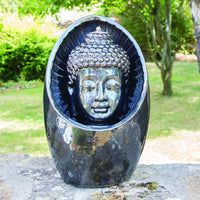 Bodhi Outdoor Water Feature with Pump and LED Light