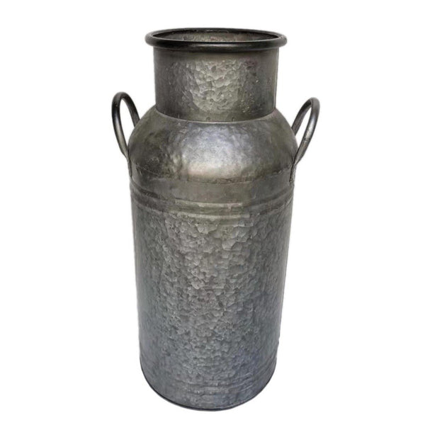 Ellham Metal Vintage Style Milk Churn Planter - Gardenesque
