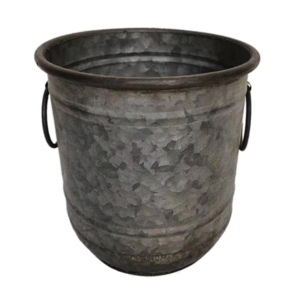Ellham Metal Bucket Planter - Gardenesque