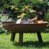 Cast Iron Fire Pit Bowl With Legs Gardenesque