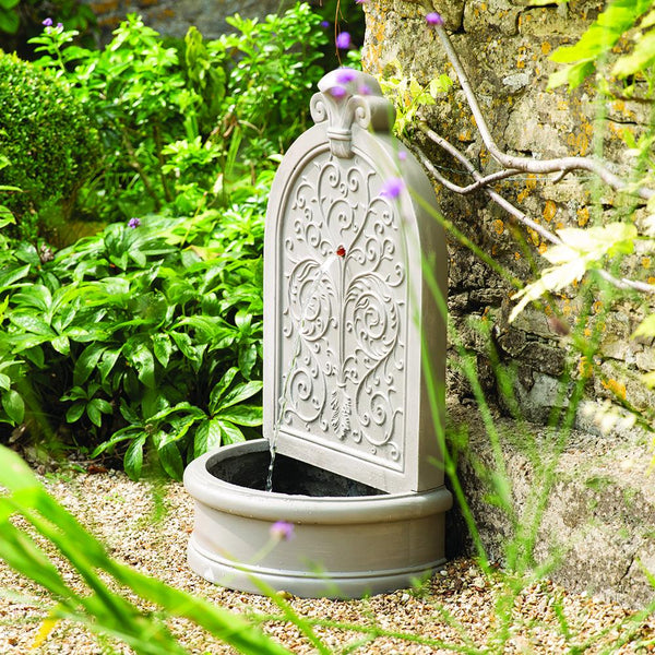 Ornate Baroque Water Fountain - Gardenesque