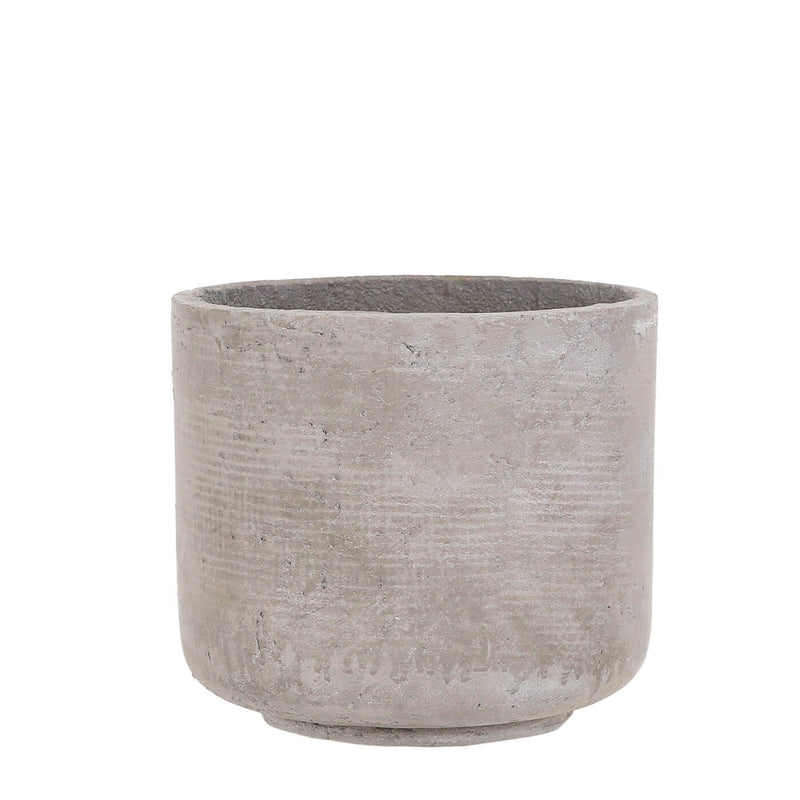 Nora Concrete Indoor Pot Cover - 3 Sizes - Gardenesque