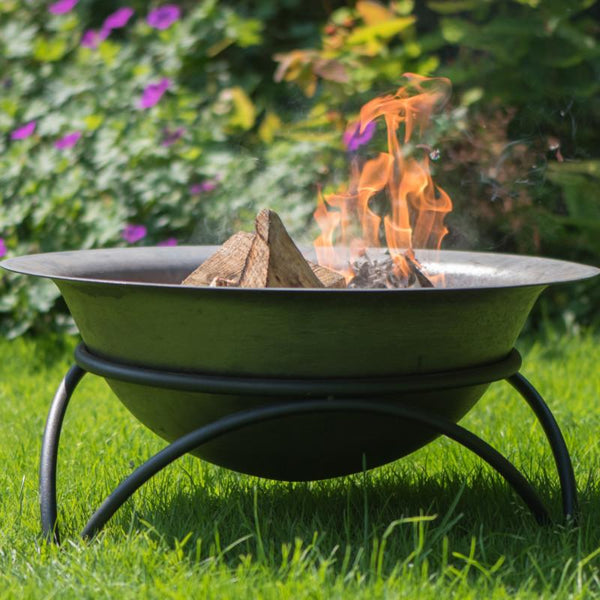 Hoole Tintagel Fire Pit With Stand - Gardenesque