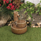 Urban Rustic Water Feature with Pump - Gardenesque
