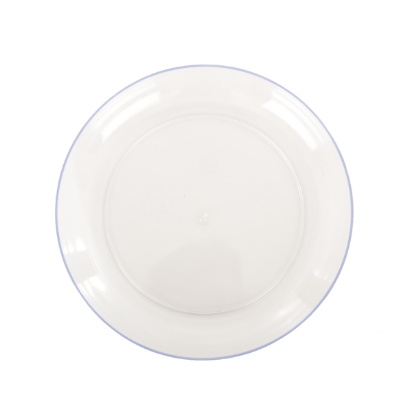 White Plastic Pot Saucers - 3 Sizes - Gardenesque