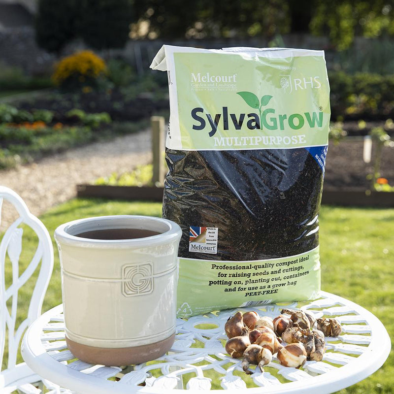 Sylva Grow All Purpose Sustainable Growing Medium Compost - 15L rhs endorsed - available at Gardenesque