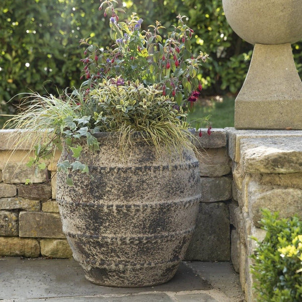Extra Large Ancient Salt Glaze Planter - 3 Sizes - Gardenesque