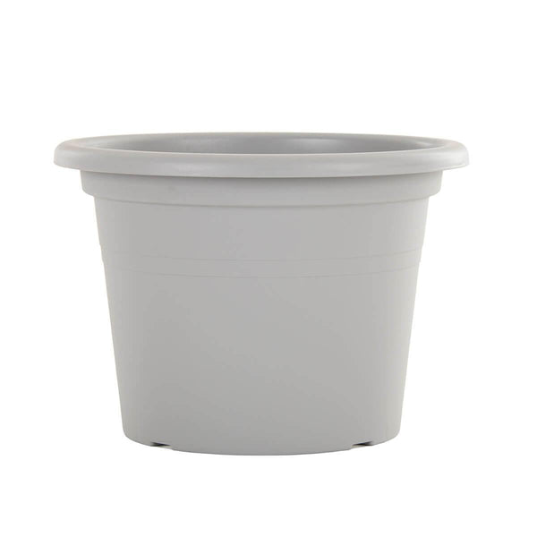 grey eco plastic garden pot
