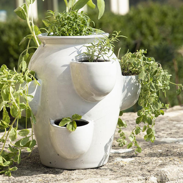 White Smoke Kitchen Herb Planter available at Gardenesque UK