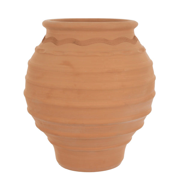 Mariana XXL Traditional Ornate Terracotta Plant Pot - Gardenesque