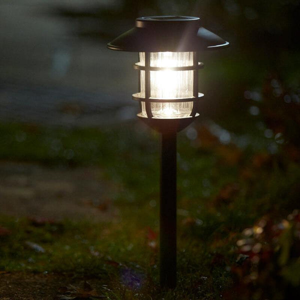 solar lights for garden path