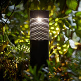 Metal LED Solar Lantern - Gardenesque