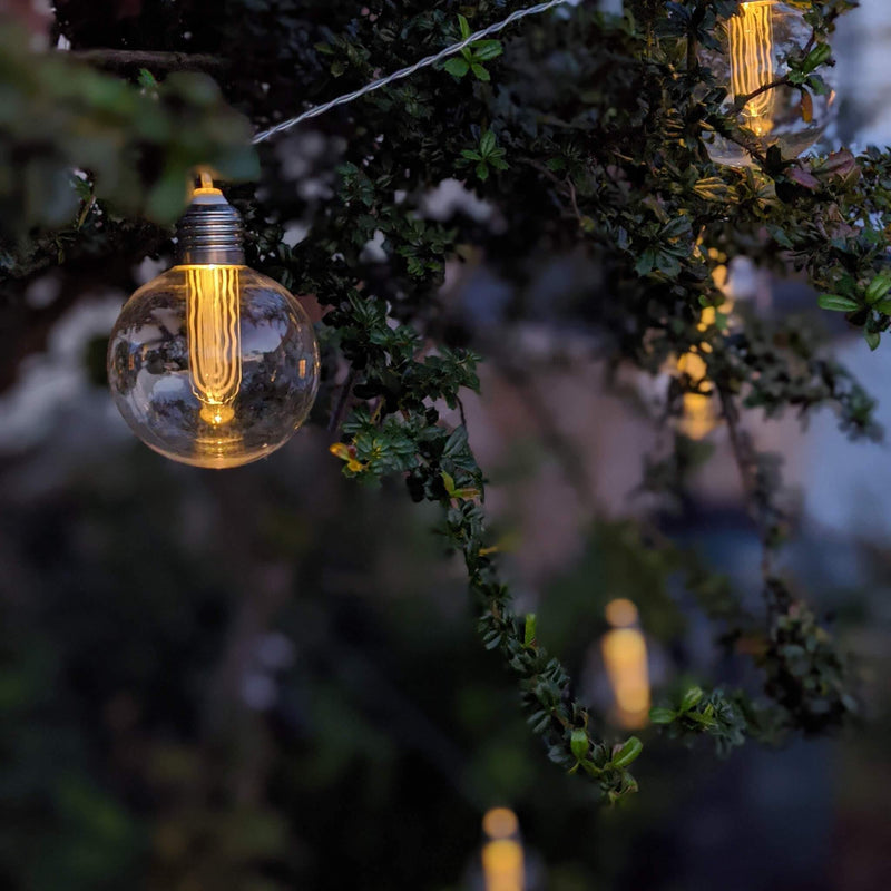 Edison Solar LED String Lights - Gardenesque
