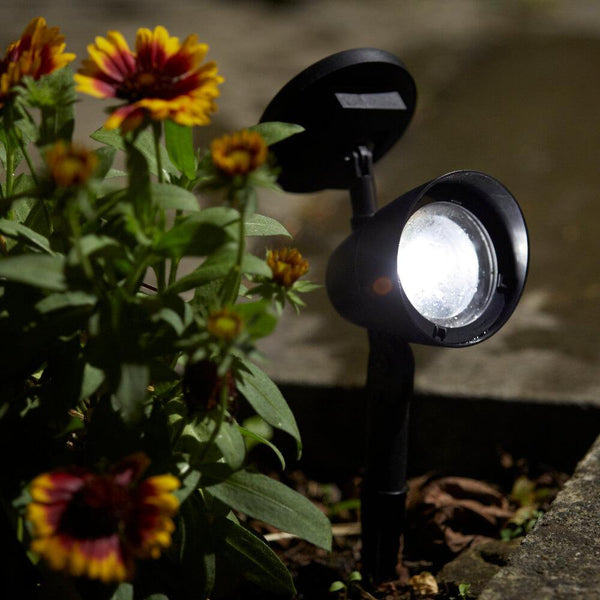 LED Solar Powered Spotlight - Gardenesque