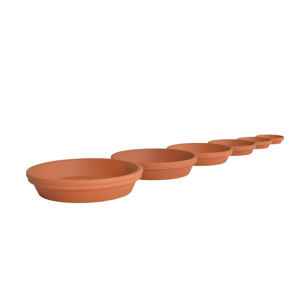 Gardenesque Essentials Terracotta Saucer - 11cm to 29cm - Gardenesque