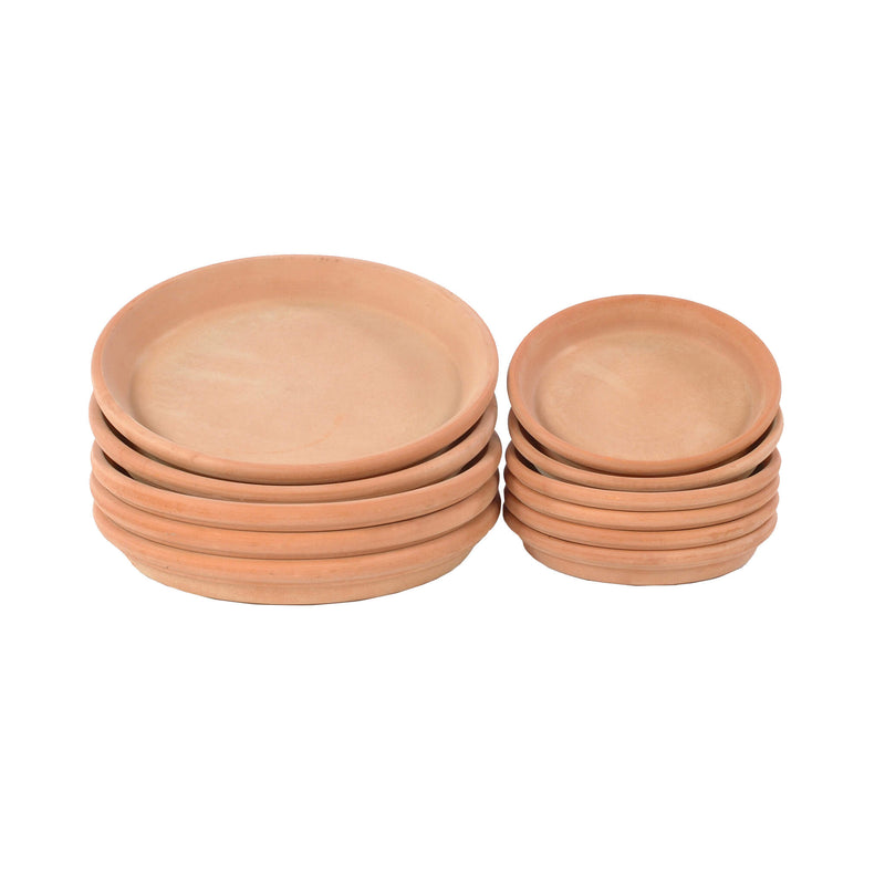 terracotta pot saucers Gardenesque