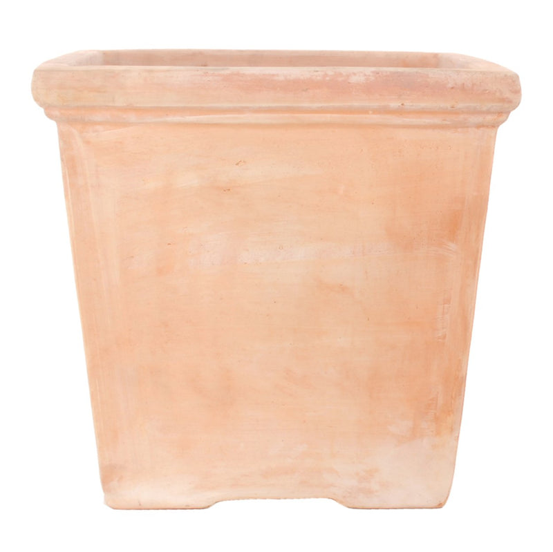 Seneca XXL Terracotta Square Garden Pot - Gardenesque