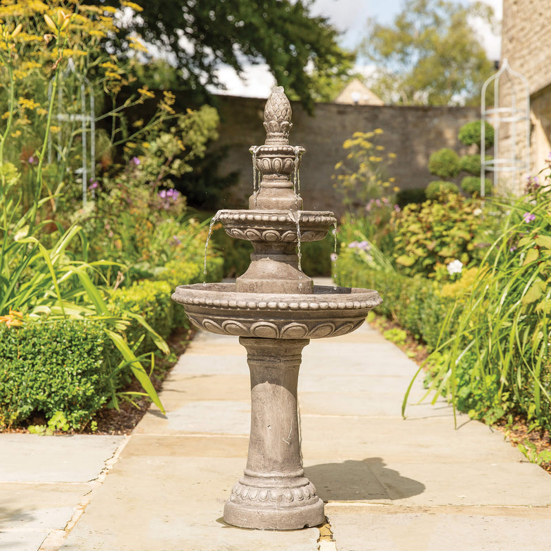 2 Tier Water Fountain Gardenesque