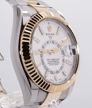 Rolex SKY-DWELLER Steel and Yellow Gold 326933 - Watches R us