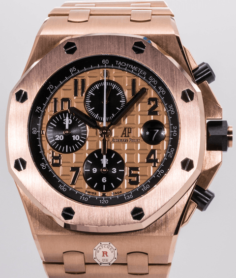 Audemars Piguet ROYAL OAK OFFSHORE CHRONOGRAPH REF. #26470OR.OO.1000OR.01 - Watches R us