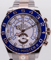 Rolex YACHT-MASTER II Oyster, 44 mm, Oystersteel and Everose gold 116681 2018 - Watches R us