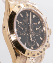 Rolex COSMOGRAPH DAYTONA Yellow Gold 116508 - Watches R us