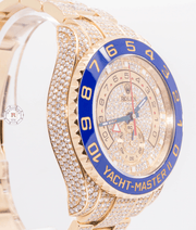Rolex YACHT-MASTER II 44mm Solid Yellow Gold Diamonds - Watches R us