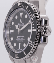 Rolex SUBMARINER NO-DATE 40mm Steel 114060 - Watches R us