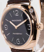 Panerai Radiomir PAM00231 Rose Gold 45mm - Watches R us