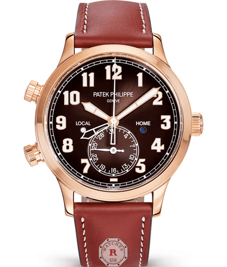 Patek Phillipe 5524R - COMPLICATIONS  CALATRAVA PILOT TRAVEL TIME - Watches R us