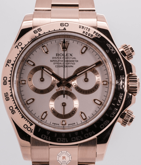 Rolex COSMOGRAPH DAYTONA Everose Gold 116505 - Watches R us