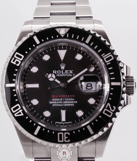 Rolex Sea-Dweller Oyster, 43 mm, Oystersteel 126600 - Watches R us