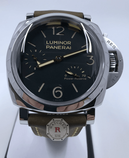 Panerai Luminor 1950 3 Days Power Reserve Acciaio - 47mm PAM00423 - Watches R us