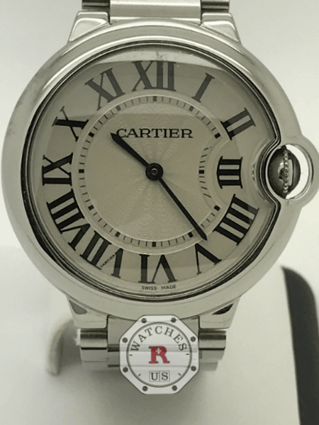 Cartier Ballon Bleu Stainless Steel Quartz 36mm W69011Z4 - Watches R us