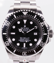Rolex DEEPSEA SEA-DWELLER 44mm Steel 116660 2012 Model - Watches R us