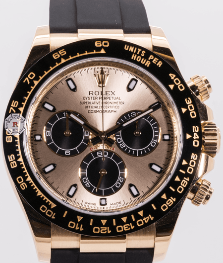 Rolex COSMOGRAPH DAYTONA Oyster 40mm Yellow Gold 116518LN - Watches R us