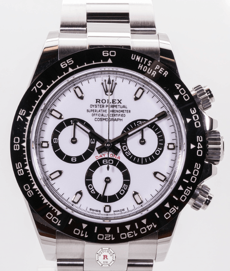 Rolex COSMOGRAPH DAYTONA Oyster, 40 mm, Oystersteel ( PANDA ) - Watches R us