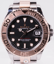 Rolex YACHT-MASTER 37mm Oystersteel & Everosegold 268621 - Watches R us