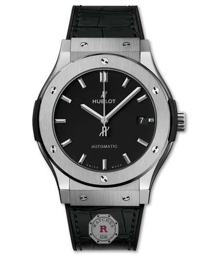 Hublot CLASSIC FUSION TITANIUM 45 mm Available Sizes : 42-38-33 mm - Watches R us
