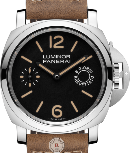 Panerai LUMINOR MARINA 8 DAYS ACCIAIO - 44MM PAM00590 - Watches R us
