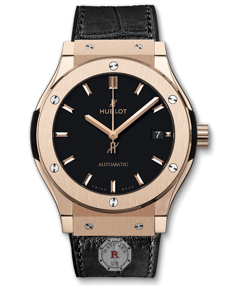 Hublot CLASSIC FUSION KING GOLD 45 mm Available Sizes : 42-38-33 mm - Watches R us