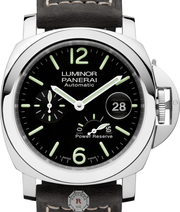 Panerai LUMINOR POWER RESERVE AUTOMATIC ACCIAIO - 44MM PAM01090 - Watches R us