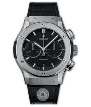 Hublot CLASSIC FUSION CHRONOGRAPH TITANIUM 45 mm Available Sizes : 42 mm - Watches R us